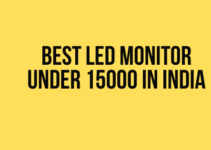 Best LED Monitor under 15000 in India