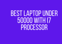 Best laptop under 50000 with i7 processor